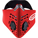 RESPRO CITY ANTI POLLUTION / EXHAUST EMISSIONS / DUST MASK - RED M (Color: Red, Tamaño: Medium)