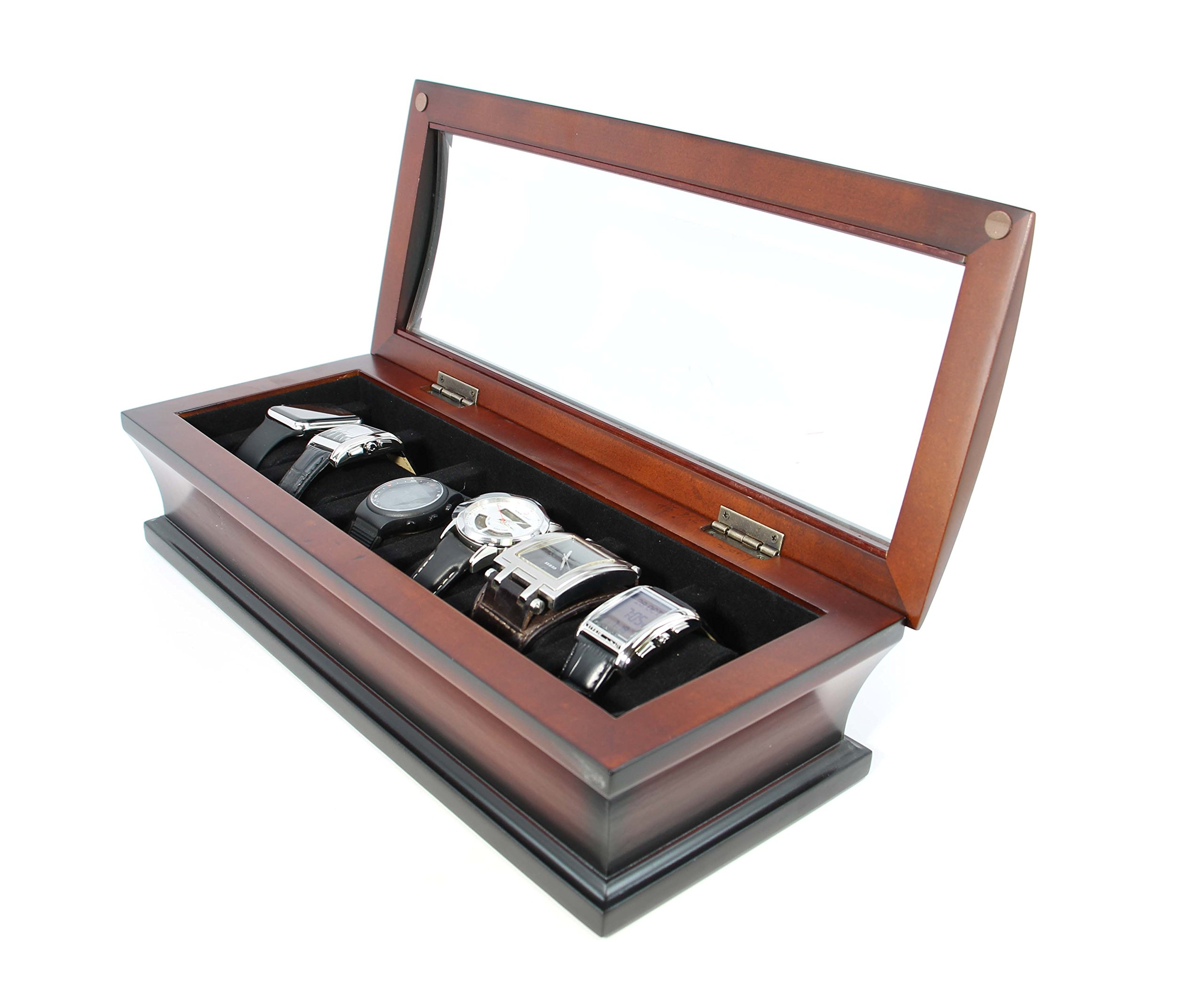 top quality executive combo jewelry box and watch box