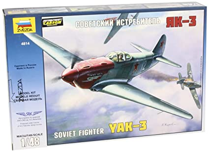Zvezda - Z4814 - Maquette - Yak-3 Normandie Niémen