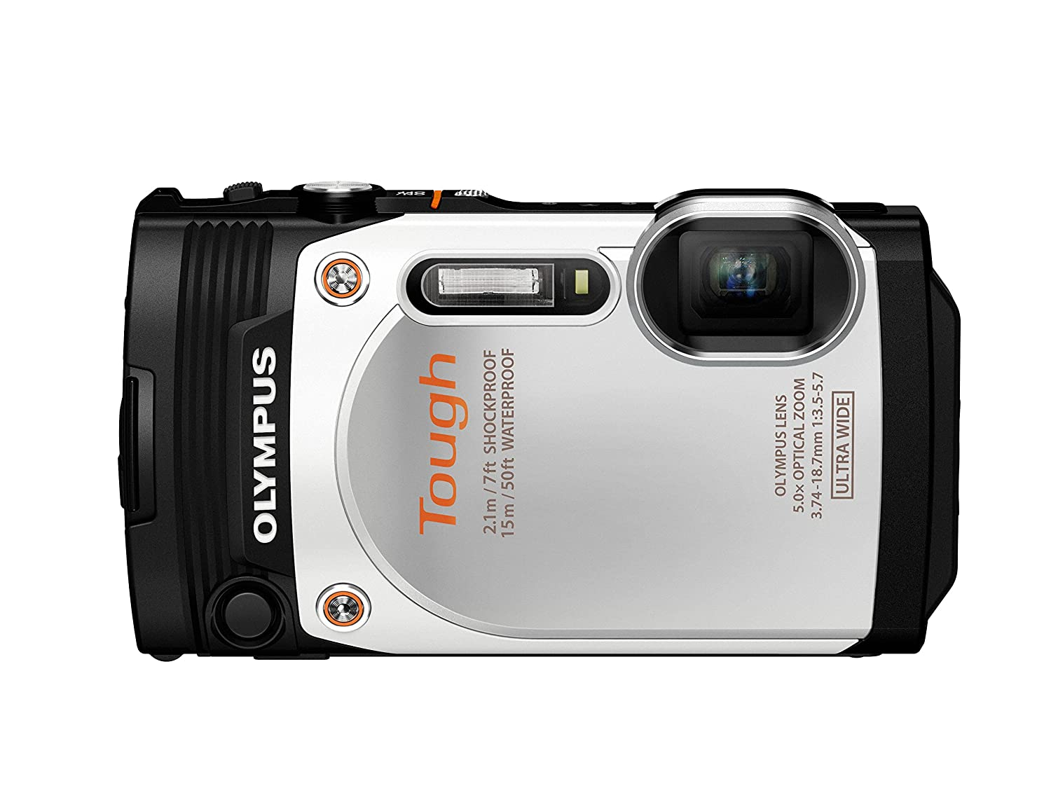 Digital Cameras OLYMPUS STYLUS TOUGH TG860 WHITE 16MPIXLES