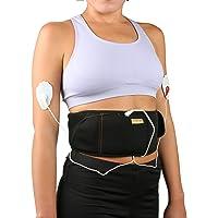 Combo Pulse Massager Belt Combo Gift Set - Black