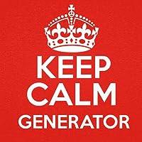 Generador de Mantenga la Calma