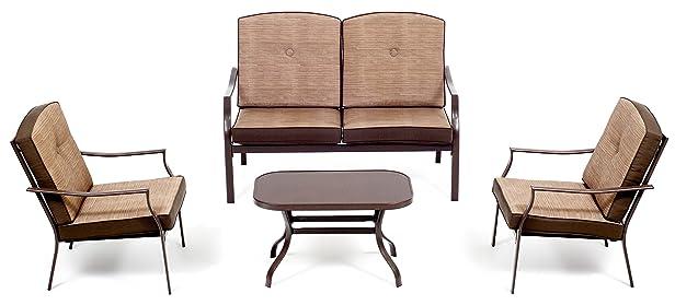 My_Garden M0476-21 Set Zanzibar Sofa, 122x77x75 cm, Ecrù