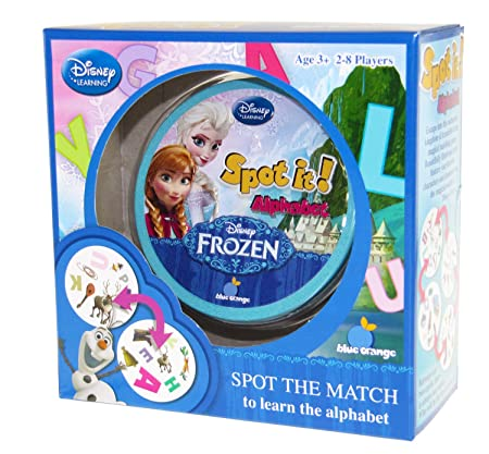 Spot It! Alphabet- Frozen- Box