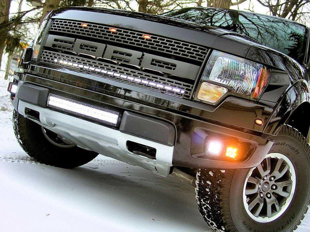 Rigid Industries Ford F150 Raptor Fog Dually Led Light