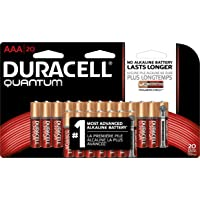 20-Pack Duracell Quantum Alkaline AAA Batteries + 100% Back in Rewards