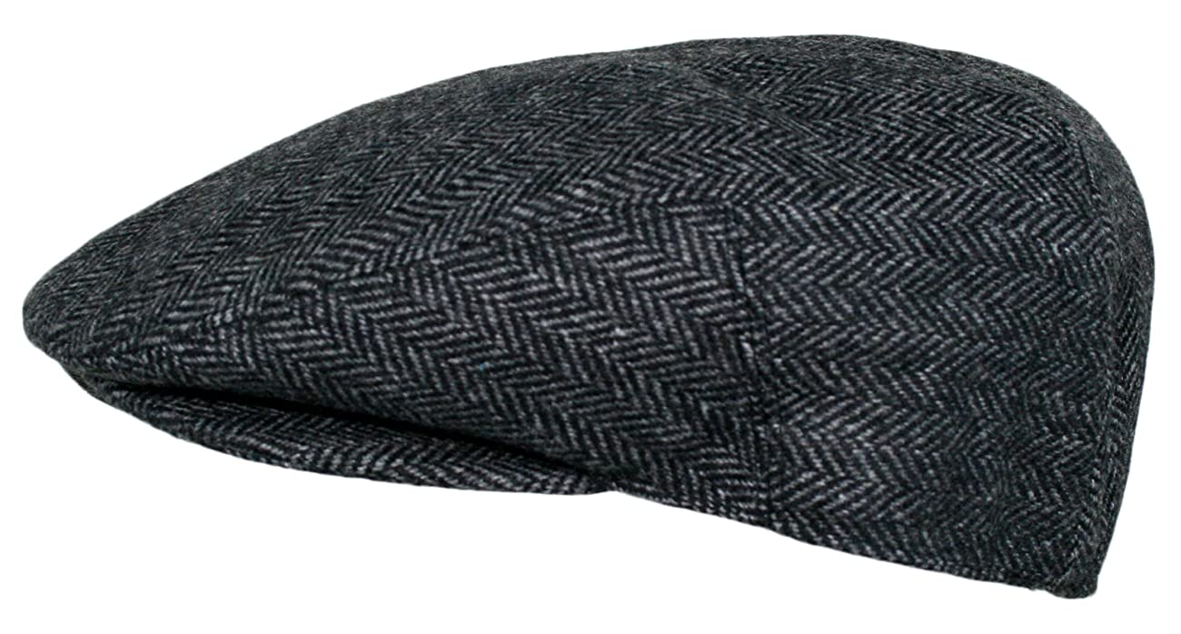 Men's Premium Wool Blend Classic Flat Ivy Newsboy Collection Hat 3