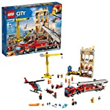 LEGO City Downtown Fire Brigade 60216 Building Kit (943 Piece) (Color: Multi)