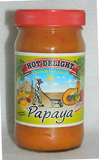 the hot sauce papaya habanero hot sauce nrjspice papaya habanero hot ...