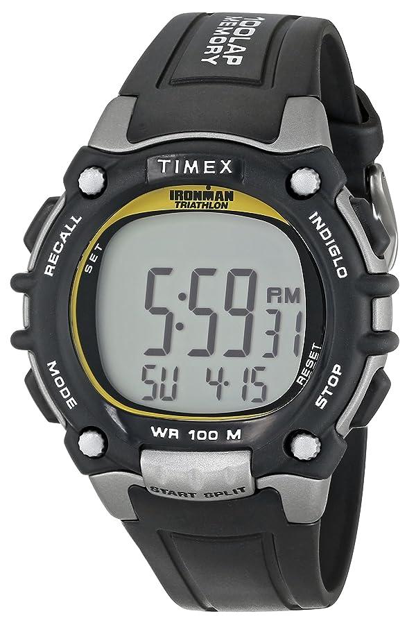 1ff832f955dc Timex Men s T5E231 Ironman 100-Lap FLIX System Watch