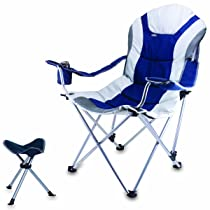Reclining Camp Chair with Footrest
