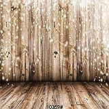 SJOLOON 8x8ft Vinyl Photography Background Wood Floor Wall Scene Backdrop Photo Studio Props 10359 (Color: 10359, Tamaño: 8x8)