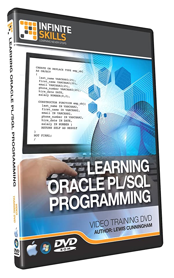 Learning oracle pl/sql training video tutorial dvd | oracle.