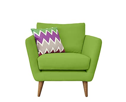 Fizz Chair, Fabric - Green