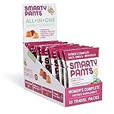 SmartyPants Women's Complete Gummy Vitamins: Gluten Free, Multivitamin, CoQ10, Folate (Methylfolate), Vitamin K2, Vitamin D3, Biotin, Methyl B12, Omega 3 DHA/EPA Fish Oil, 15 count (15 Day Supply) (Tamaño: Travel Packs(15 Count))