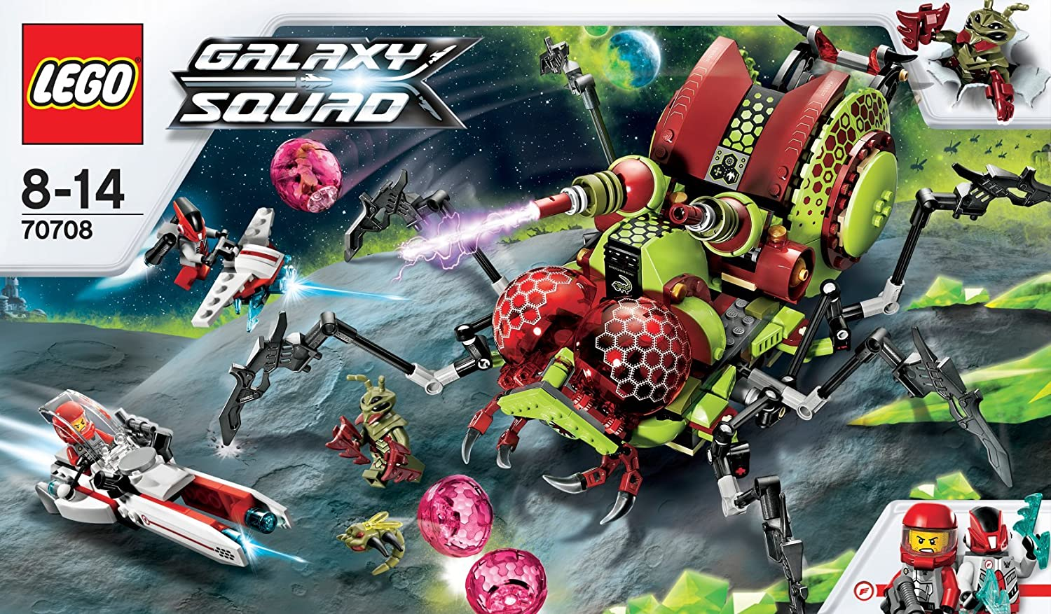 Lego Galaxy Squad Review
