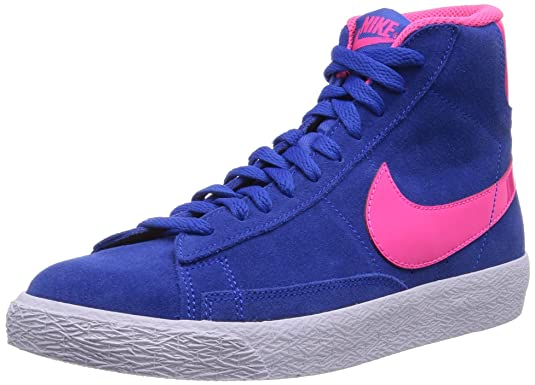 Scarpe Nike Blazer Grigie E Fucsia