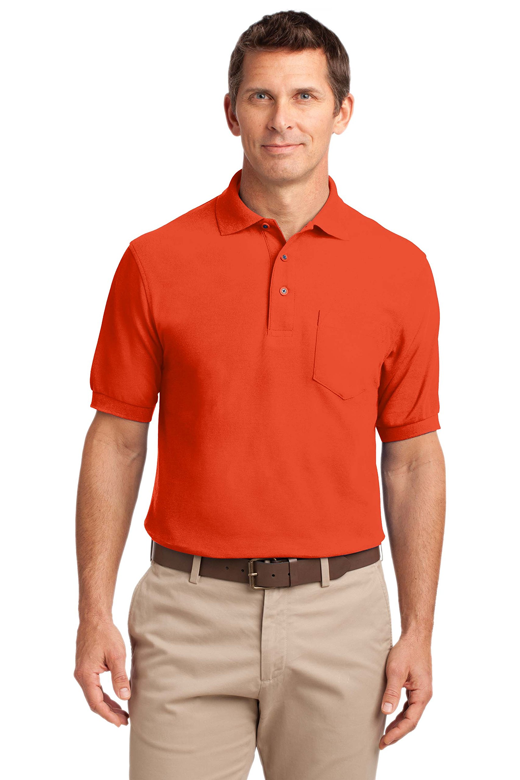 Polycotton Polo Silk Touch Port Authority Shirt
