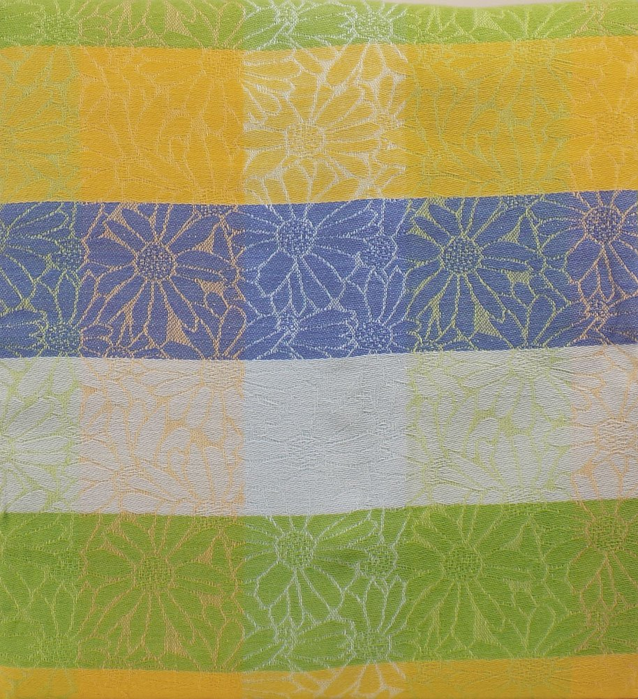 Pastel Flower Spring And Easter Fabric Tablecloth (60x120) Cotton Pastel  Flowers And Stripes Combine To Create A Lovely Spring And Easter Holiday  Table ...