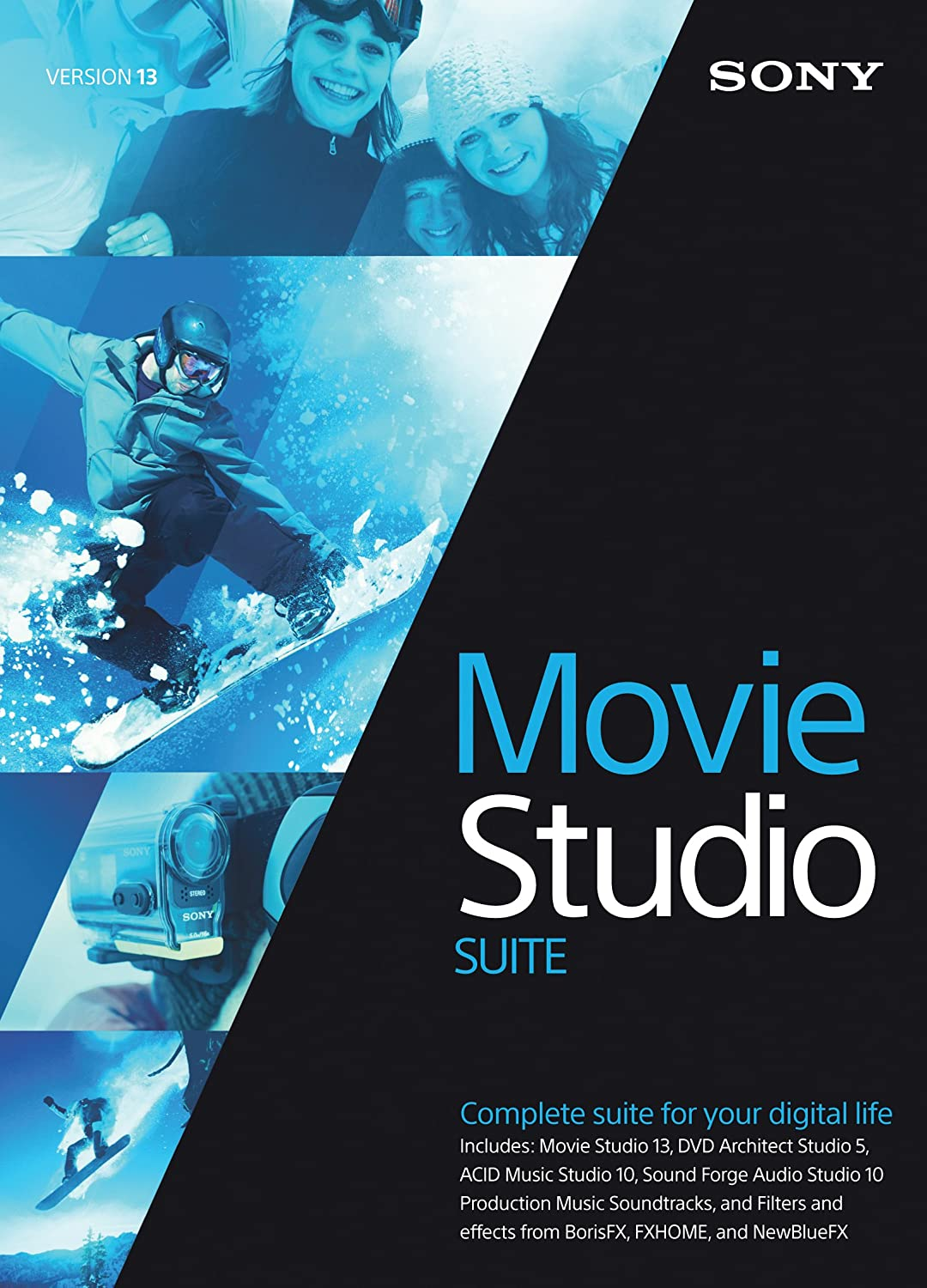 Sony Movie Studio 13 Suite- 30 Day Free Trial (Download)
