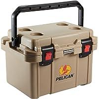 Pelican Progear 20 Quart Polyethylene Elite Cooler (Outdoor Tan)
