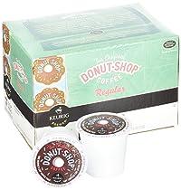 Reusable K cup 6 pack + the Original Donut Shop Keurig Brewed Coffee K-cups Medium Roast 24 Count