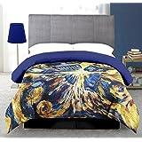 Doctor Who Pandorica Queen Size Comforter (Color: Multi, Tamaño: 88