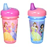 The First Years Disney 2 Piece Baby Stackable Soft Spout Cup, Princess (Color: Pink)
