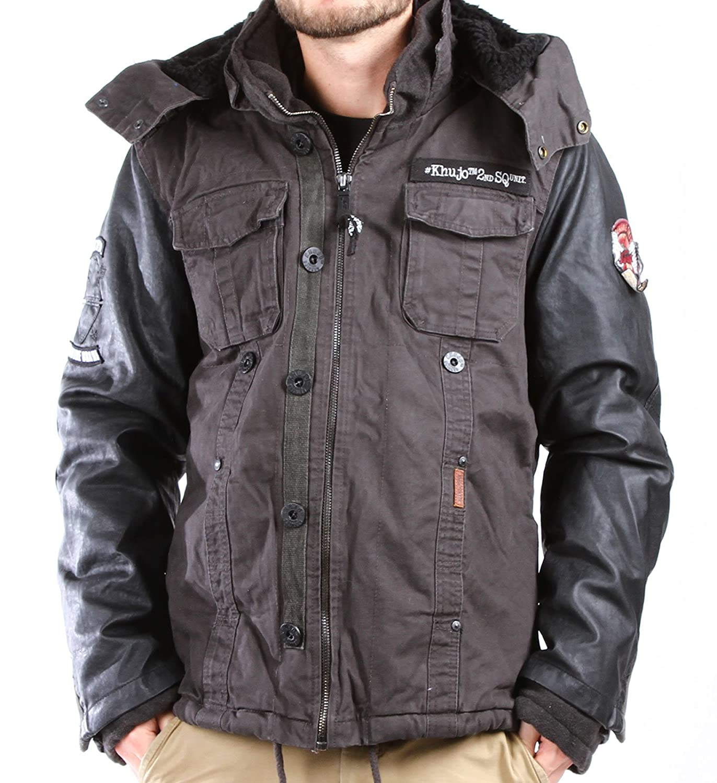 Khujo Herren Jacke Jones Fake Leather Jacket jetzt bestellen