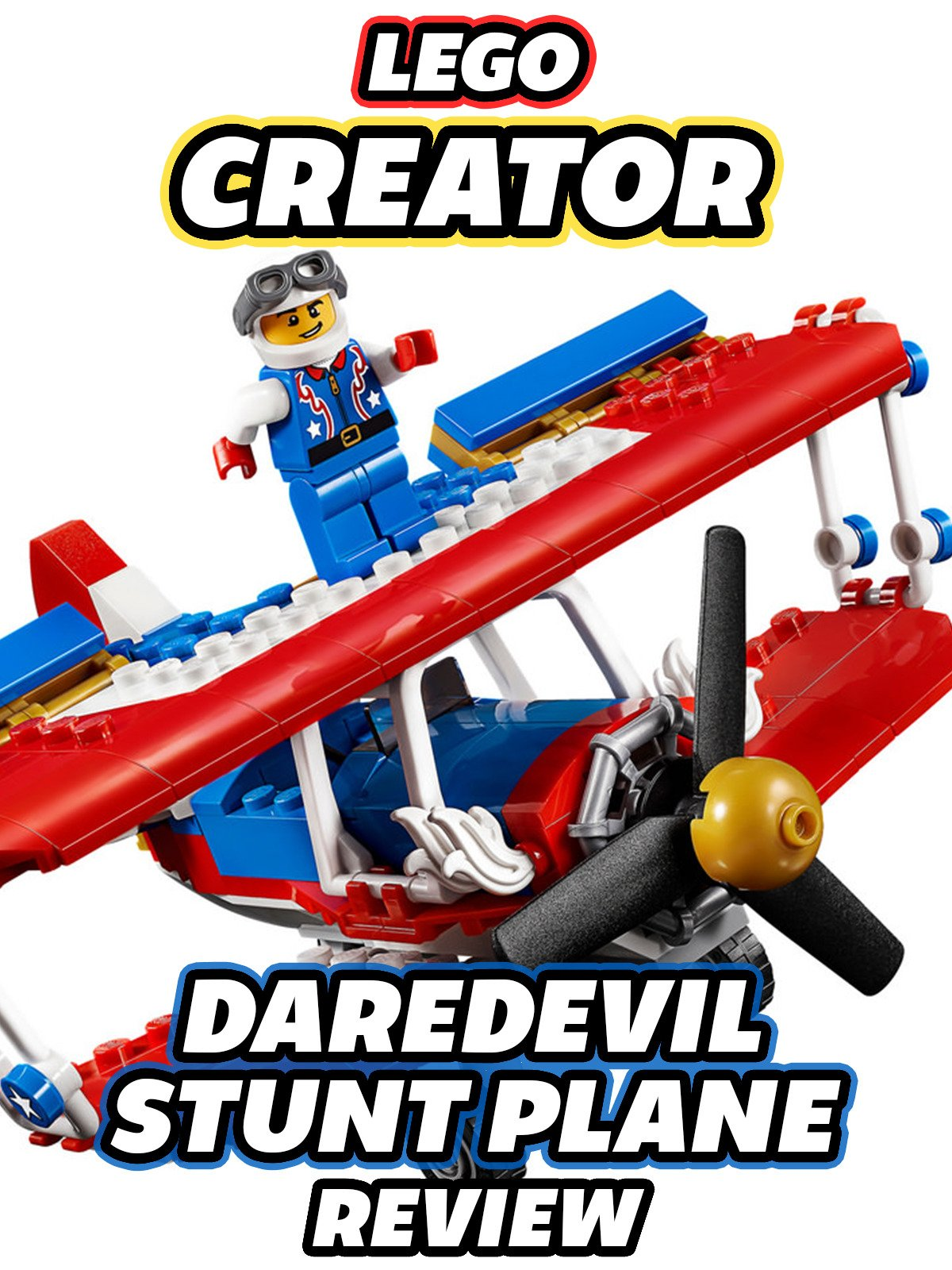 Review: Lego Daredevil Stunt Plane Review