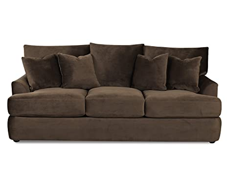 Klaussner FINDLEY Sofa, Chocolate