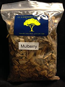 o^) J C 's Smoking Wood Chips - #10 Qt Bags - Mulberry Price