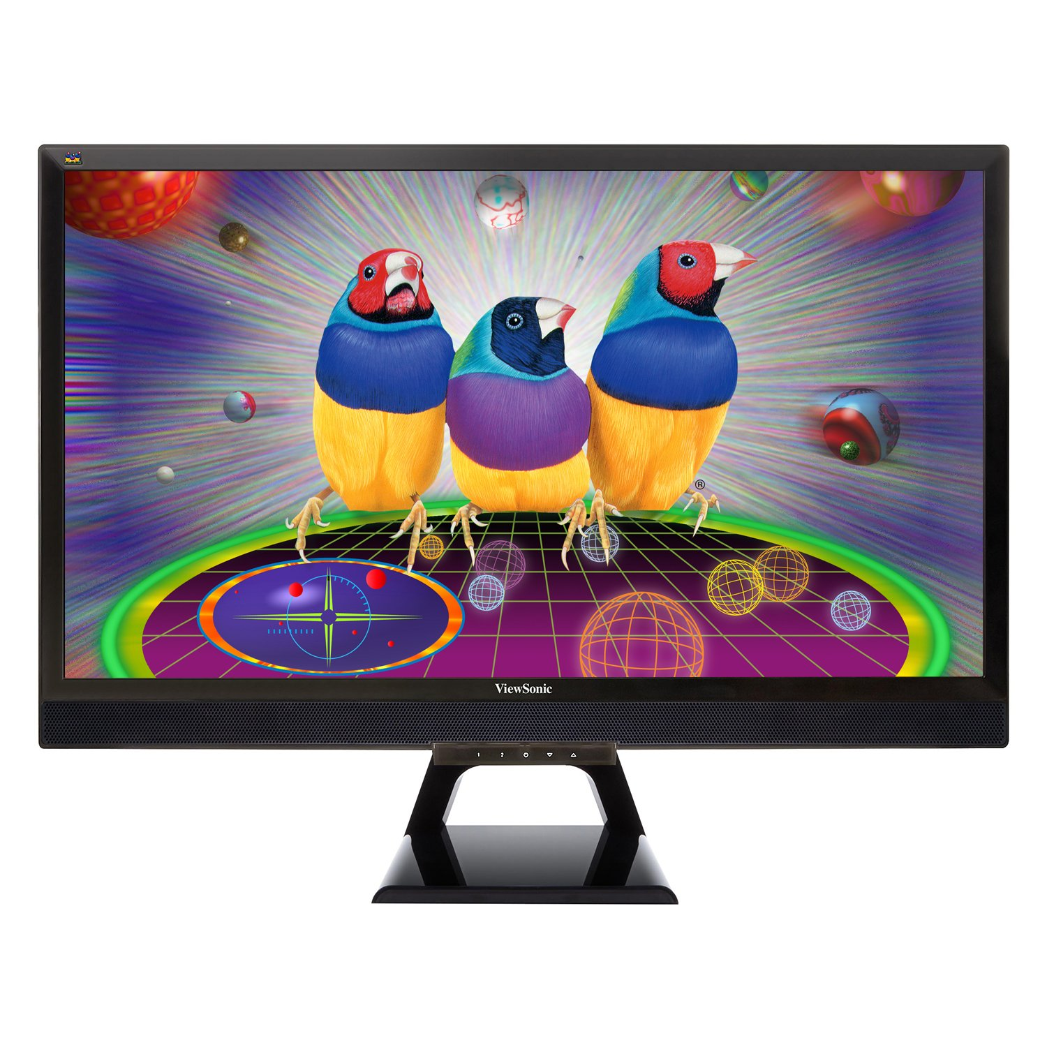ViewSonic VX2858sml 28-Inch SuperClear Pro LED Monitor (Full HD 1080p, 50M:1 DCR, Dual MHL(HDMI)/VGA, 8-bit Color)