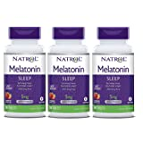 Natrol Melatonin Fast Dissolve Tablets, Strawberry Flavor, 5mg, 90 Count (Pack of 3) (Tamaño: Pack of 3)