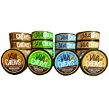 Java Chews, Premium Flavored Coffee Pouches, No Tobacco, No Nicotine Smokeless Alternative, Caramel, French Vanilla, Mocha, Wintergreen Variety Pack (4 Cans) (Tamaño: 4 Cans)