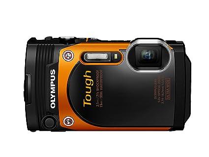 """Olympus TG-860 Appareil photo numérique étanche et tout-terrain 16 Mpix - Écran 3"""" - Zoom Optique 5x - Orange"""