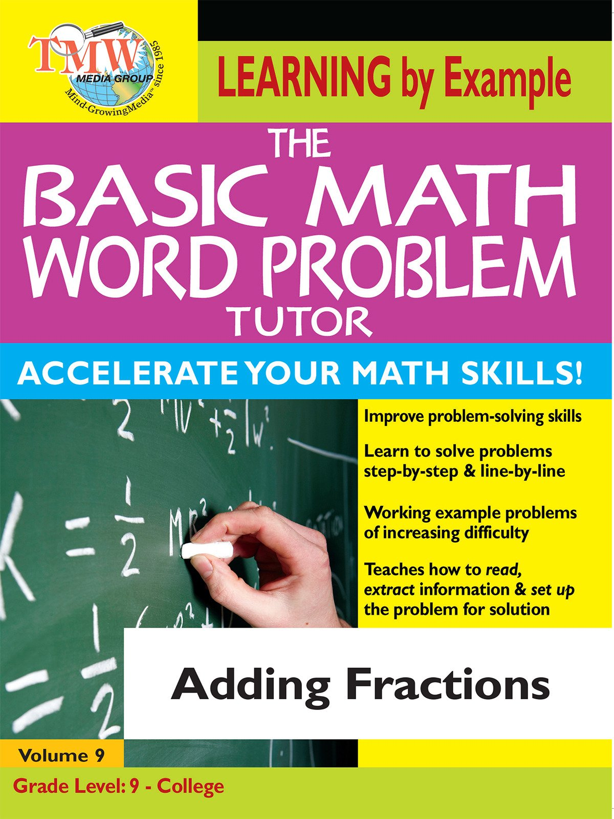 Basic Math Word Problem Tutor: Adding Fractions