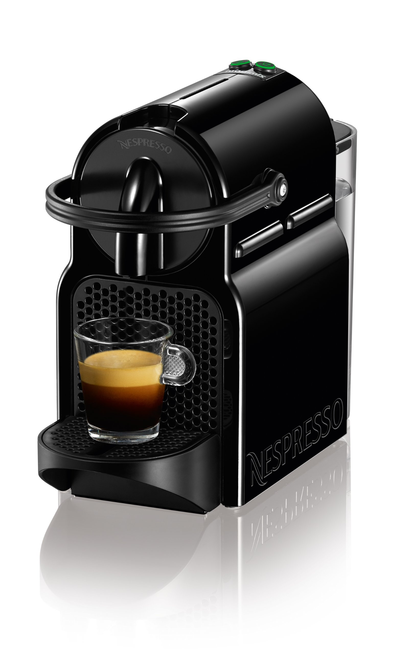 magimix nespresso inissia coffee machine black. Black Bedroom Furniture Sets. Home Design Ideas