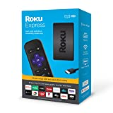 Roku Express HD Streaming Media Player 2019 (Color: black)