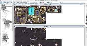 VIPFIX Latest (2018) Version 2.6 ZXW USB Dongle Blackfish Phone PCB Schematic Diagram Professional Circuit Diagram for iPhone X 8P 8 7 6 5 4 iPad Samsung Soldering Repair Work (Tamaño: normal)