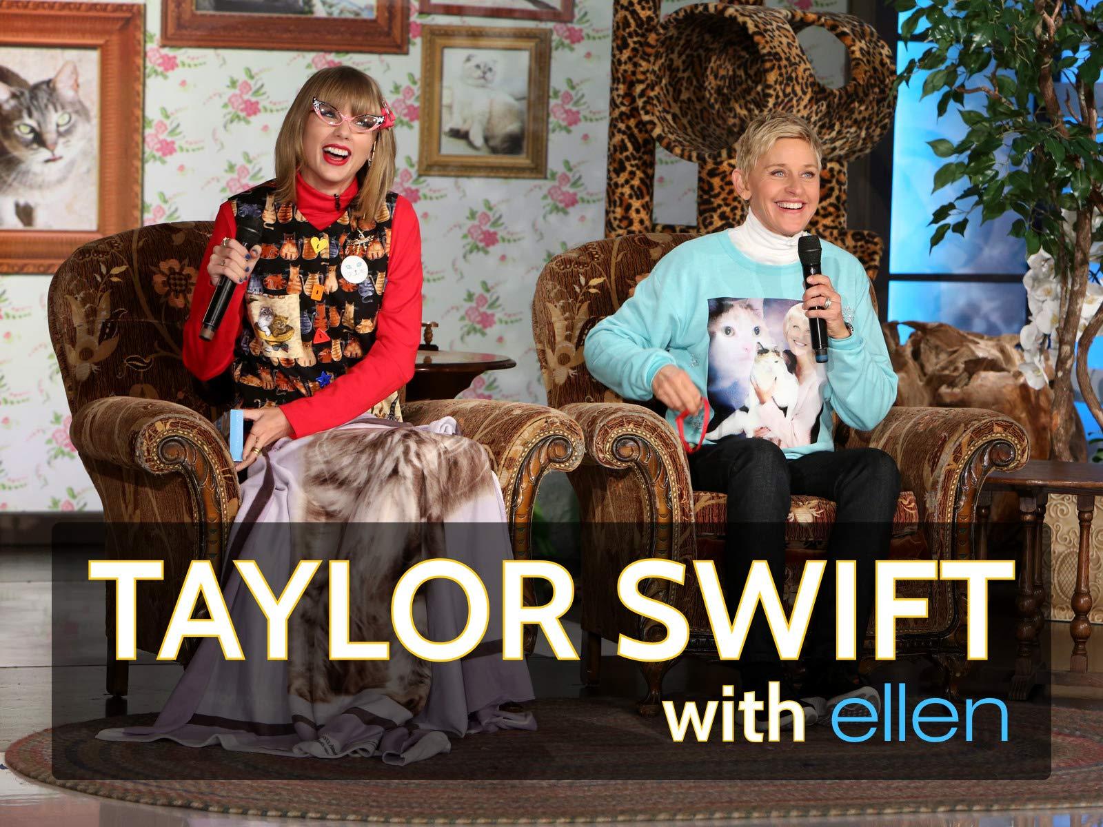 Taylor Swift on Ellen