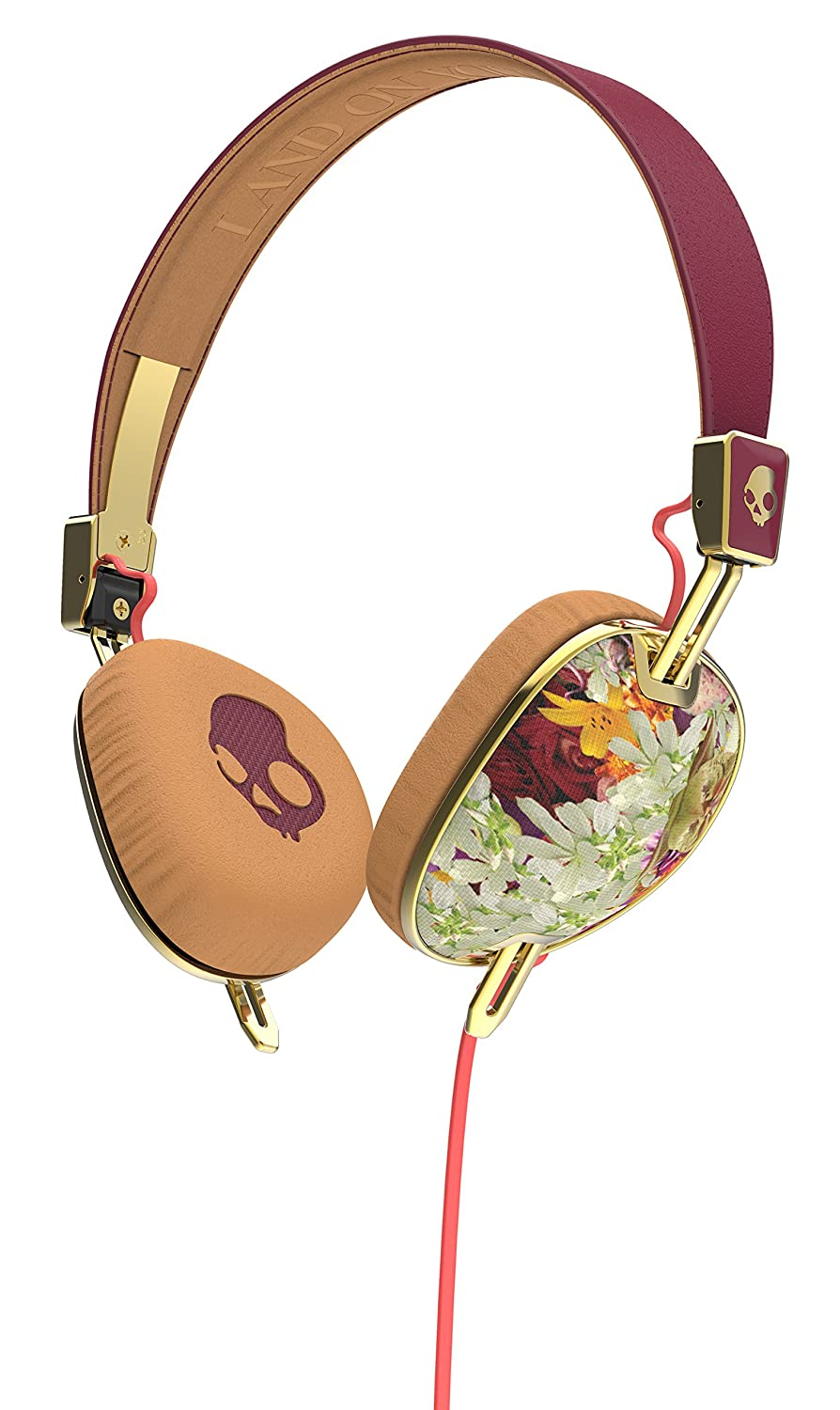 Skullcandy S5AVGM-395 Knockout Rose Gold Headphone with ...