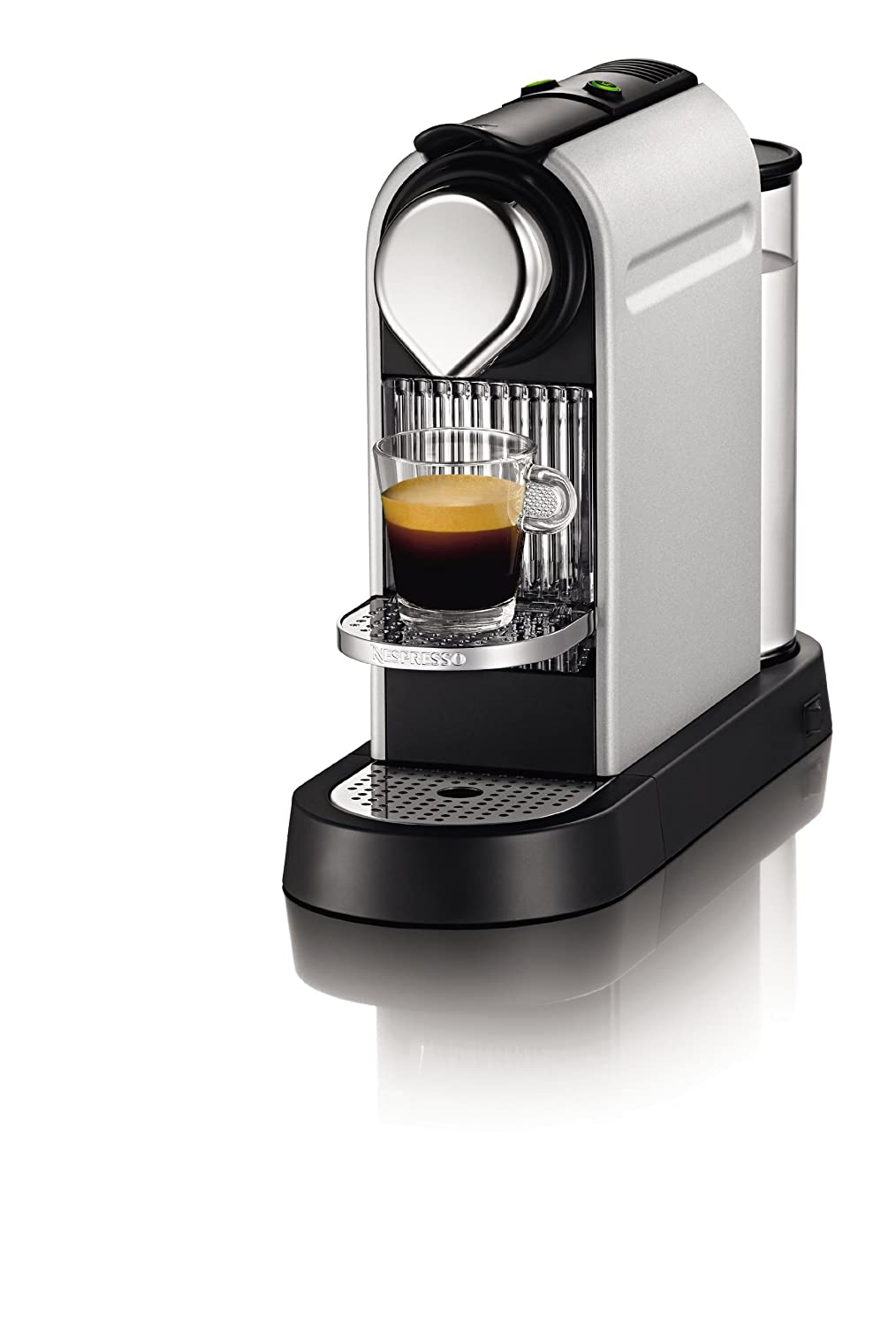Coffee maker krups nespresso citiz xn7002p4 espresso coffee machine titanium ebay - Machine a cafe krups nespresso ...