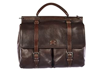 3116022b68d5a Bezug Super Angebote mit sollten investieren DOLCE GABBANA Aktentasche  Tasche Dokumententasche Laptoptasche Leder vintage Braun.