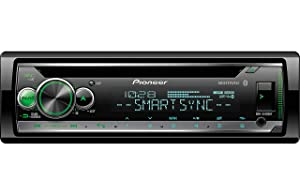 Pioneer DEH-S5120BT in-Dash Built-in Bluetooth CD, MP3, Front USB, Auxiliary, Pandora, AM/FM, Built in iPod, iPhone and iPad Controls, ARC Phone app, Dual Phone Connection Stereo Receiver (Renewed)
