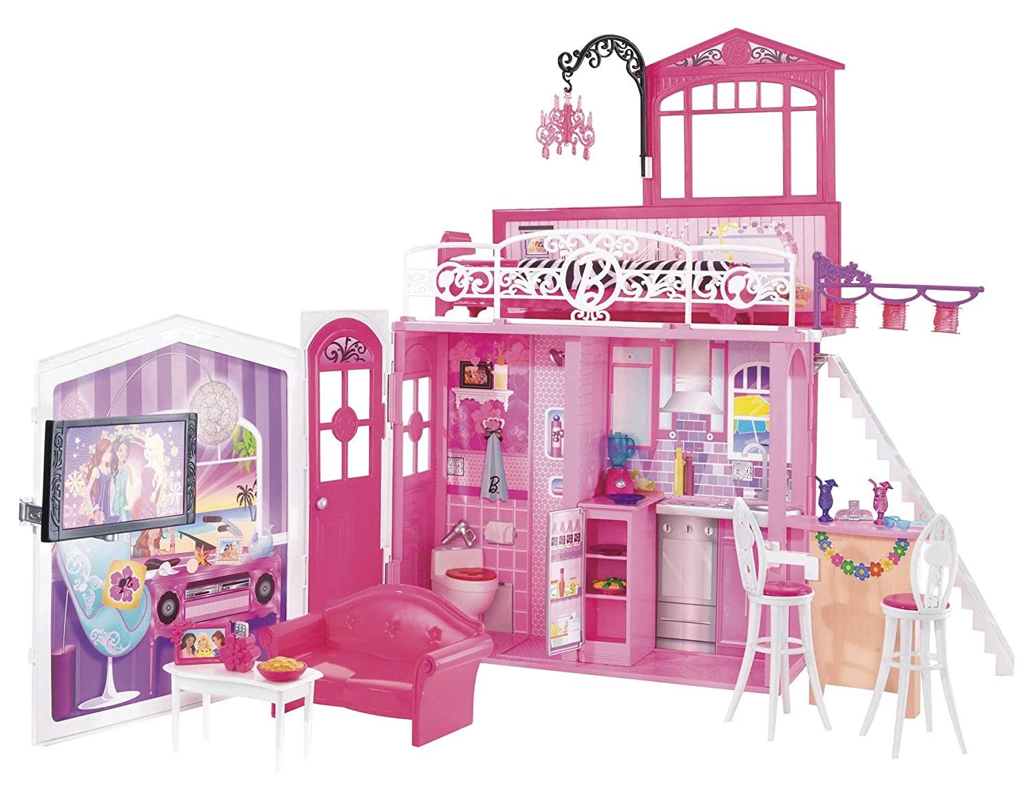 Casa glam barbie - Imagui