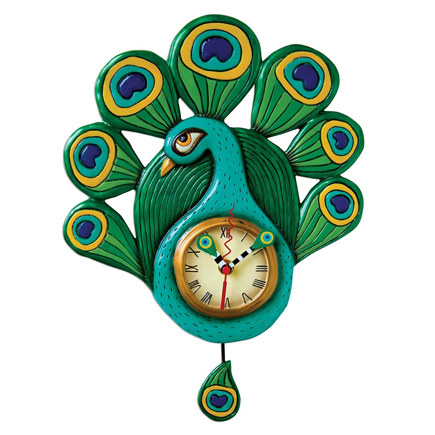 Funny allen design wall clock for clock lovers funny allen design wall clock for clock lovers amipublicfo Gallery