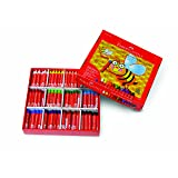 Faber-Castell Beeswax Crayons School Pack, 240 Jumbo Crayons - Art Tools for Education and Classroom (Tamaño: School Pack (240 Count))
