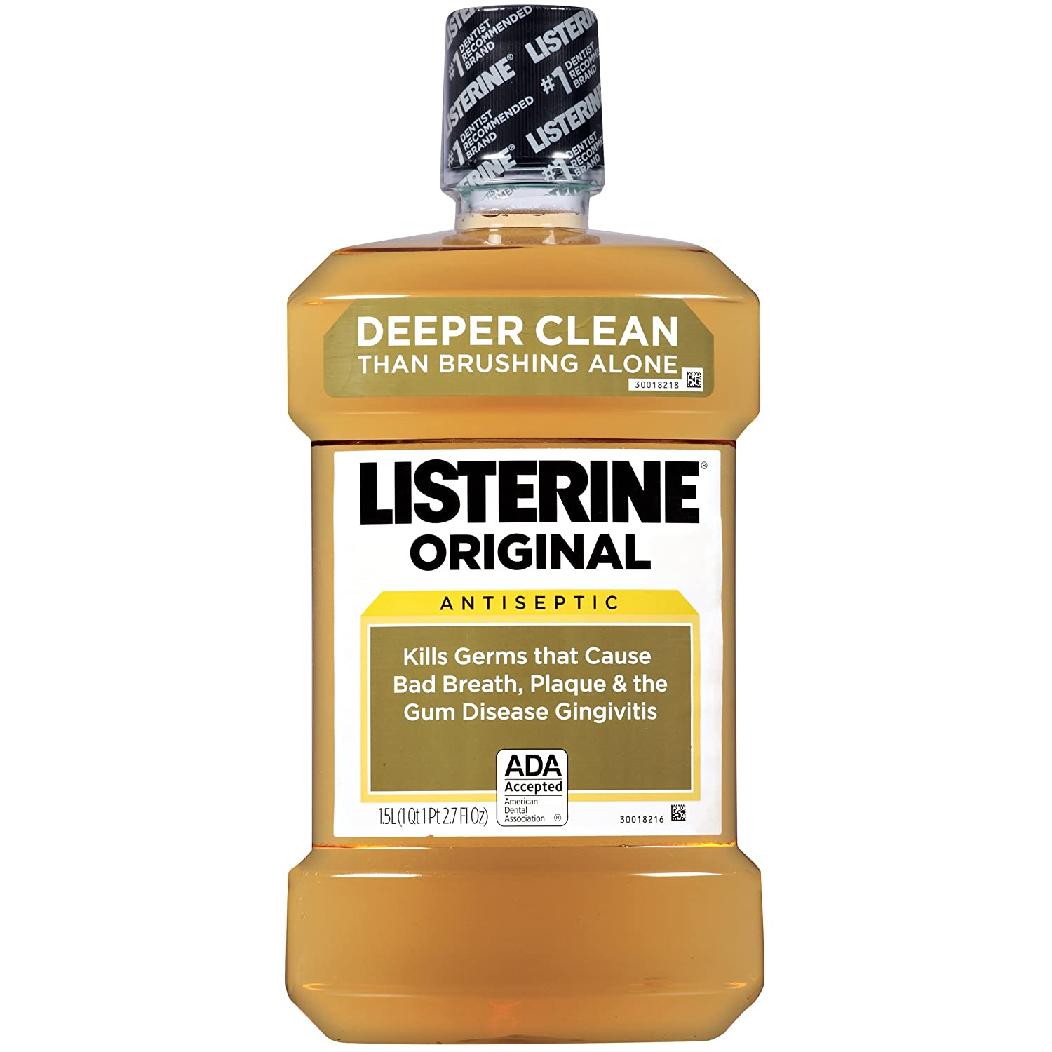 how to get rid of brown stains from mouthwash