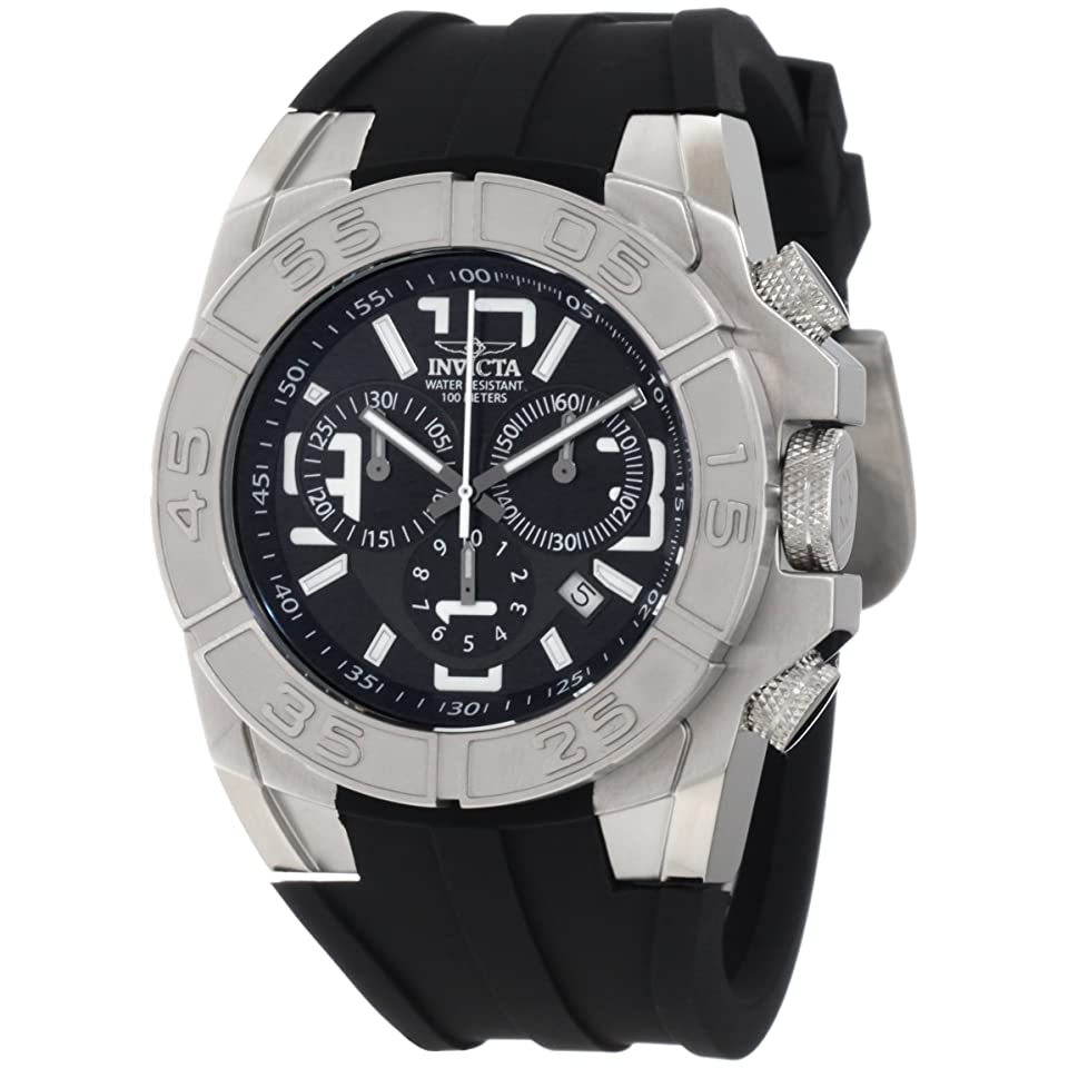 Mens Invicta 1608 Pro Diver Swiss Chronograph with Interchangeable